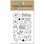 Paper Smooches - Christmas - Clear Acrylic Stamps - All Yule Need
