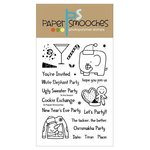 Paper Smooches - Christmas - Clear Acrylic Stamps - Tis the Season