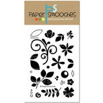 Paper Smooches - Clear Acrylic Stamps - Reflections