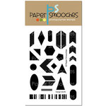 Paper Smooches - Clear Acrylic Stamps - Design Motifs