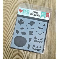 Paper Smooches - Stencils - Autumn