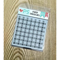 Paper Smooches - Stencils - Buffalo Check