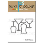 Paper Smooches - Dies - Drink Glasses