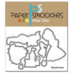 Paper Smooches - Dies - Royal Icons