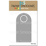 Paper Smooches - Dies - Wine Tag