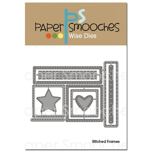 Paper Smooches - Dies - Stitched Frames