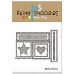 Paper Smooches - Dies - Stitched Frames