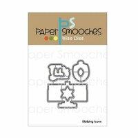 Paper Smooches - Dies - Kibitzing Icons
