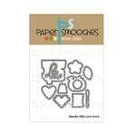 Paper Smooches - Dies - Needle Little Love Icons