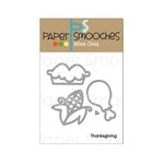 Paper Smooches - Dies - Thanksgiving