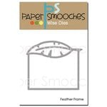 Paper Smooches - Dies - Feather Frame