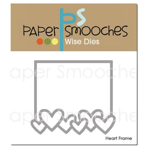 Paper Smooches Heart Frame Die