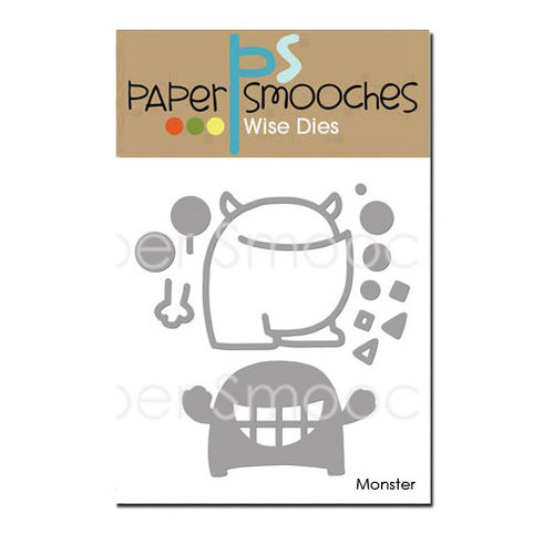 Paper Smooches - Dies - Monster