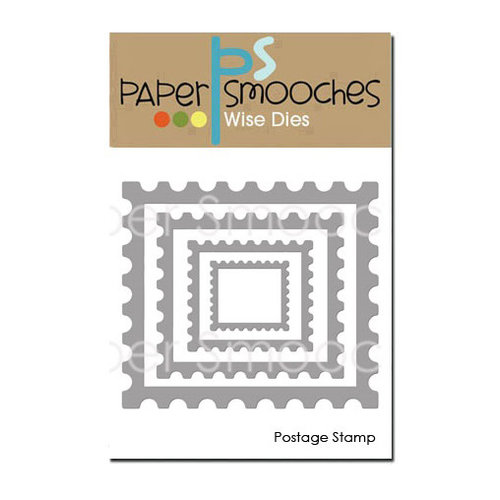 Paper Smooches - Dies - Postage Stamp
