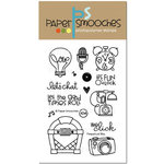 Paper Smooches - Clear Acrylic Stamps - Perpetual Bliss