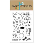 Paper Smooches - Clear Acrylic Stamps - Sunny Side Up