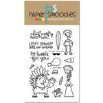 Paper Smooches - Clear Acrylic Stamps - Jive Turkey