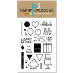 Paper Smooches - Clear Acrylic Stamps - Hullabaloo