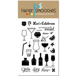 Paper Smooches - Clear Acrylic Stamps - Free Spirits