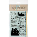 Paper Smooches - Clear Acrylic Stamps - A Blessed Christmas
