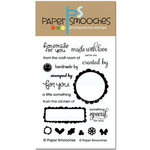 Paper Smooches - Clear Acrylic Stamps - Just for You