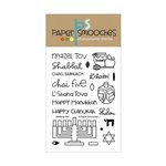 Paper Smooches - Clear Acrylic Stamps - Kibitzing Two