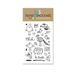 Paper Smooches - Clear Acrylic Stamps - Feathered Friends