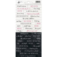 P13 - Hello Beautiful Collection - Cardstock Sticker Sheet - One