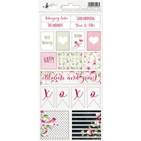 P13 - Hello Beautiful Collection - Cardstock Sticker Sheet - Two