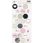 P13 - Hello Beautiful Collection - Cardstock Sticker Sheet - Three