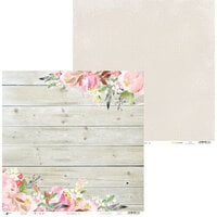 P13 - Love in Bloom Collection - 12 x 12 Double Sided Paper - 03