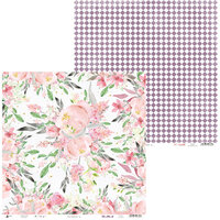 P13 - Love in Bloom Collection - 12 x 12 Double Sided Paper - 04