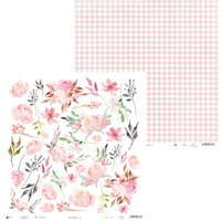 P13 - Love in Bloom Collection - 12 x 12 Double Sided Paper - 07