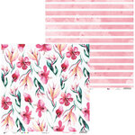 P13 - Lets Flamingle Collection - 12 x 12 Double Sided Paper - 04