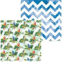 P13 - Lets Flamingle Collection - 12 x 12 Double Sided Paper - 06