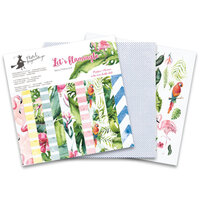 P13 - Lets Flamingle Collection - 6 x 6 Paper Pad