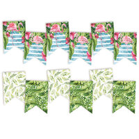 P13 - Lets Flamingle Collection - Double Sided Big Die Cut Garland