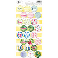 P13 - Lets Flamingle Collection - Party Sticker Sheet - Two