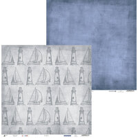 P13 - Off Shore II Collection - 12 x 12 Double Sided Paper - 03