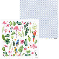 P13 - Lets Flamingle Collection - 12 x 12 Double Sided Paper - 07