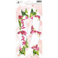 P13 - Lets Flamingle Collection - Party Sticker Sheet - Three