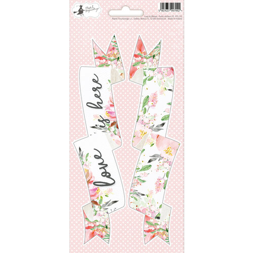 P13 - Love in Bloom Collection - Party Sticker Sheet - Three