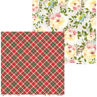 P13 - Rosy Cosy Christmas Collection - 12 x 12 Double Sided Paper - 03