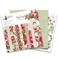P13 - Rosy Cosy Christmas Collection - 12 x 12 Paper Pad