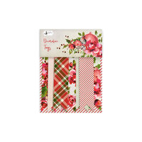 P13 - Rosy Cosy Christmas Collection - Embellishments - Tag Set - Three