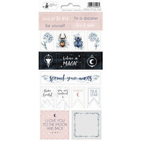 P13 - New Moon Collection - Cardstock Sticker Sheet - Two