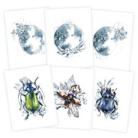 P13 - New Moon Collection - Mini Posters Set