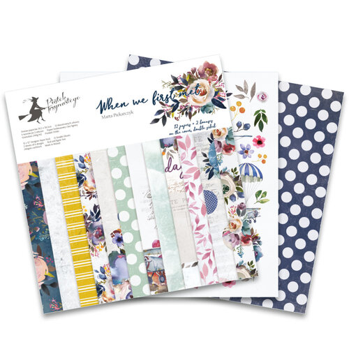 P13 - When We First Met Collection - 12 x 12 Paper Pad