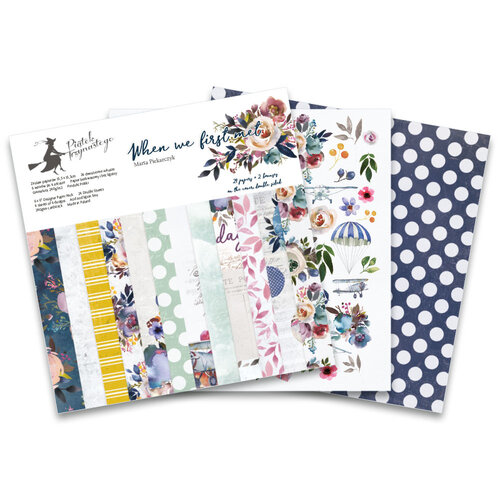 P13 - When We First Met Collection - 6 x 6 Paper Pad