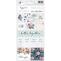 P13 - When We First Met Collection - Cardstock Sticker Sheet - Two